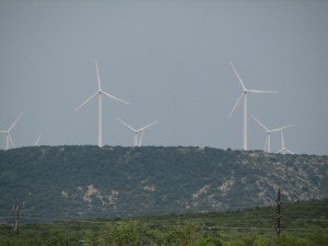 Wind Turbines in Texas
