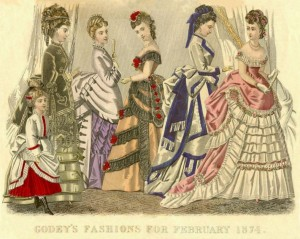 Victorian Clothing ca 1874