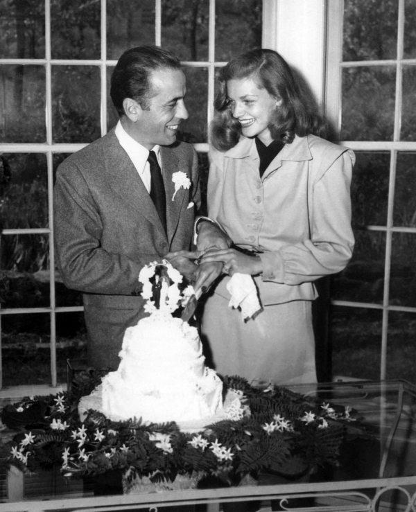 Bogey has his baby back for Lauren bacall married to humphrey bogart