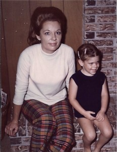 Mom and Me Fireplace