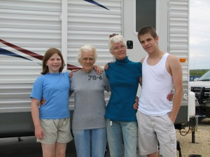 With the Grandmothers
