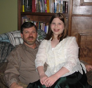 Ready for the Father/Daughter Dance